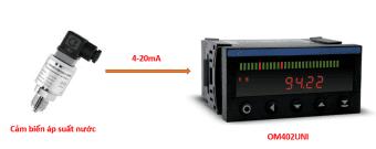 Cảm biến áp suất âm -1-0bar