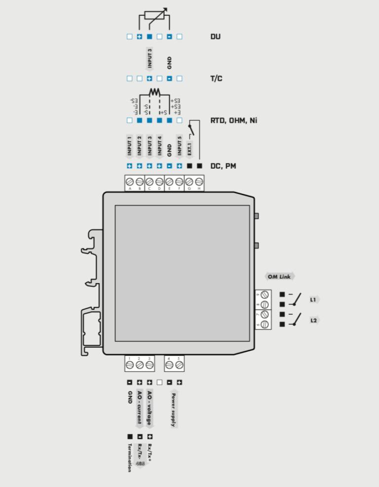 Bộ chuyển tín hiệu 4-20mA sang relay