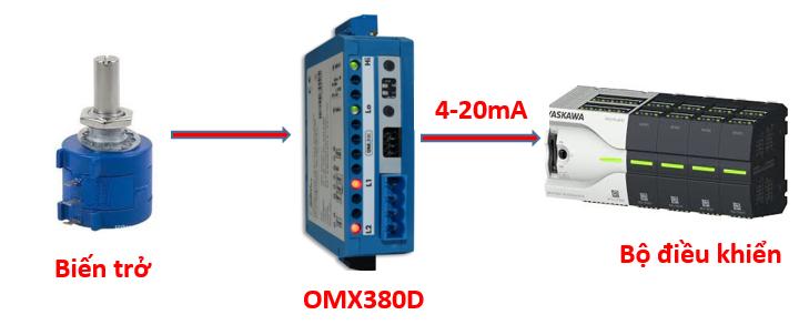 Bộ chuyển tín hiệu điện trở sang 4-20ma