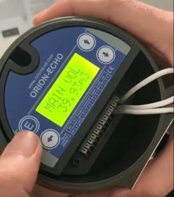 cảm biến siêu âm đo thể tích nước