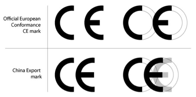 Phân biệt kí hiệu CE của EU và CE Trung Quốc