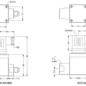 Đồng hồ đo áp suất suất điện tử