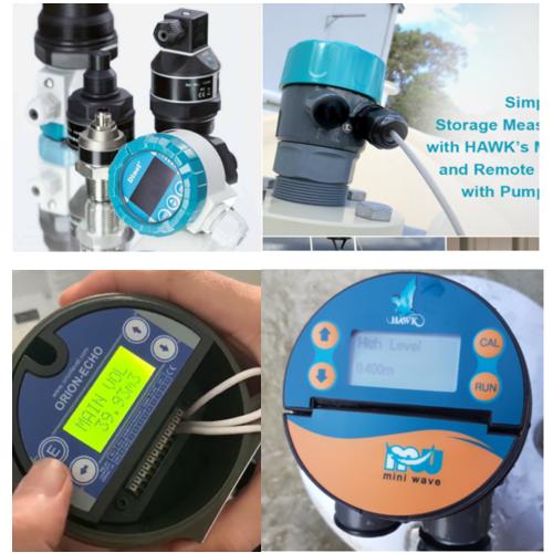 sensor đo mức nước sạch