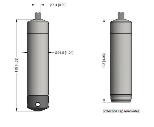 Cảm biến đo mức thả chìm LMK 307
